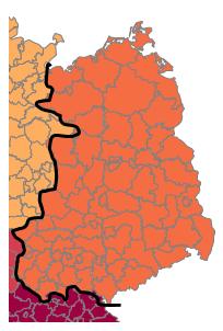 Excel-Karte Deutschland – wie erstellt man eine geographische Aufteilung 7