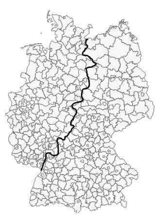 Excel-Karte Deutschland – Daten in einer territorialen Aufteilung mit PLZ 2