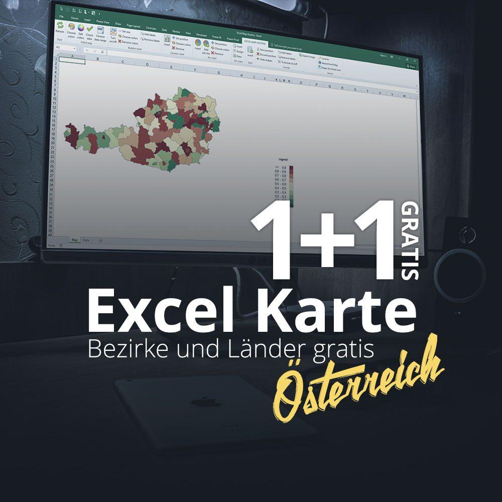 Excel Karte Österreich