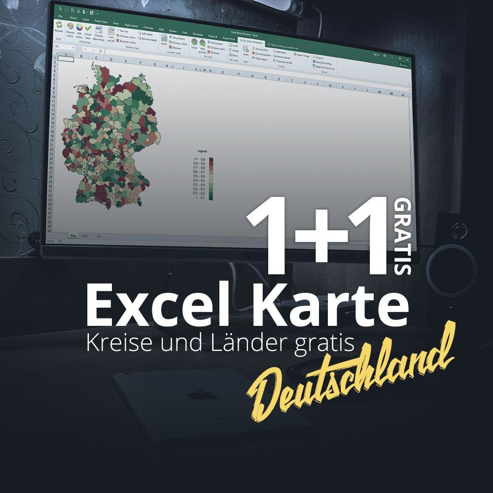 Excel Karte Deutschland
