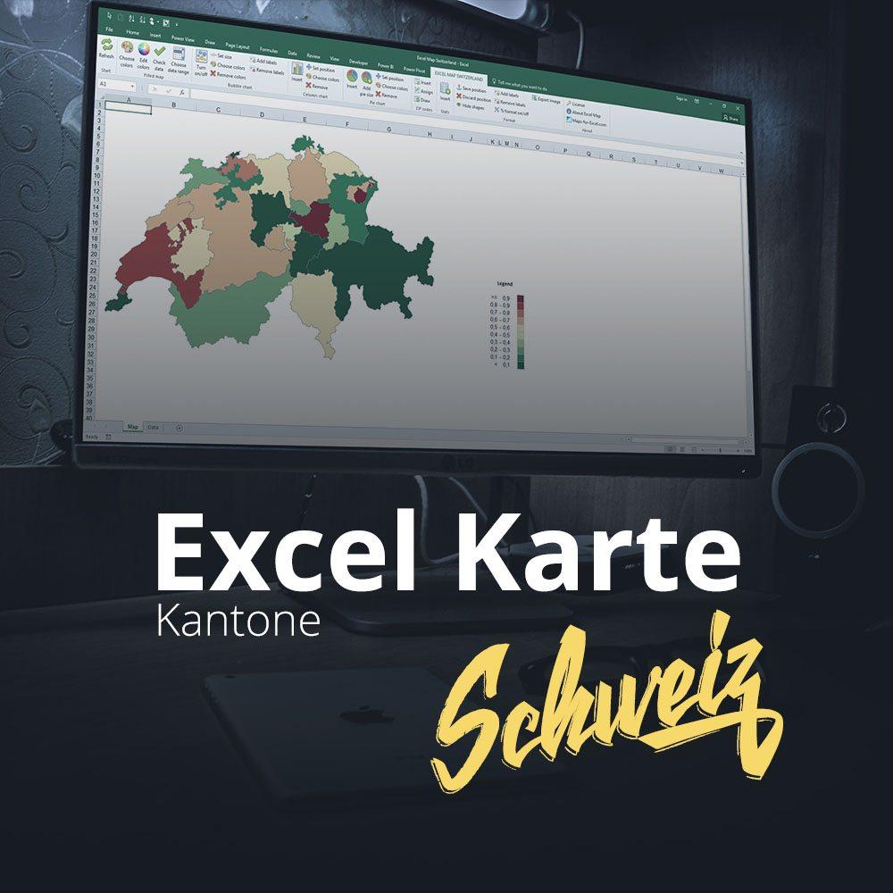Excel Karte Schweiz