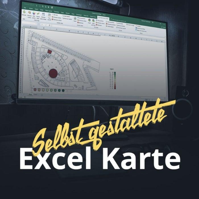 Selbst gestaltete Excel Karte