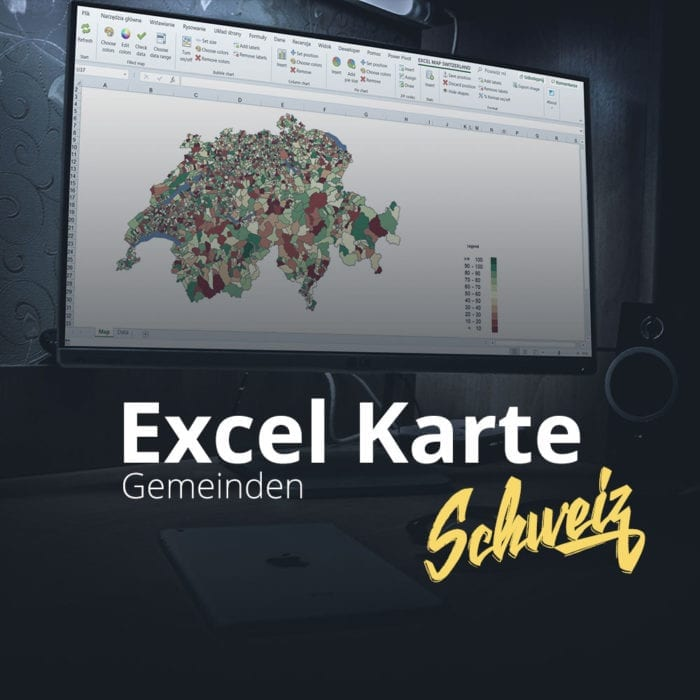 Excel Karte Schweiz Gemeinden